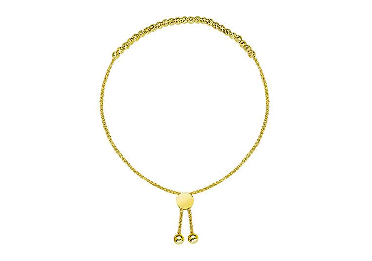 Midas Gold Bolo Bracelet