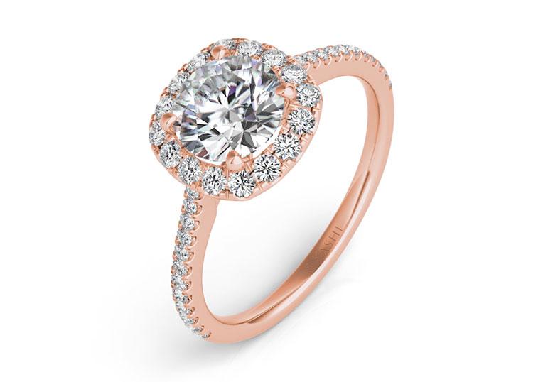 S. Kashi Engagement Ring